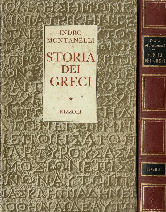 montanelli storia dei greci  storia dei greci di montanelli indro - AbeBooks