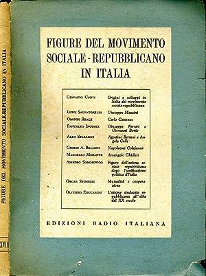 Figure Del Movimento Sociale-Repubblicano In Italia: Aa.Vv.