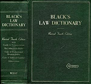 Black'S Law Dictionary DEFINITIONS OF THE TERMS AND PHRASES OF AMERICAN AND ENGLISH JURISPRUDENCE...