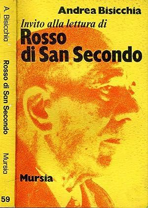 Invito Alla Lettura Di Rosso Di San: Andrea Bisicchia