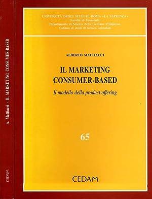 Il Marketing Consumer-Based IL MODELLO DELLA PRODUCT OFFERING: ALBERTO MATTIACCI