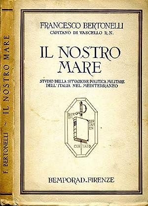 Il Nostro Mare STUDIO DELLA SITUAZIONE POLITICA: Francesco Bertonelli