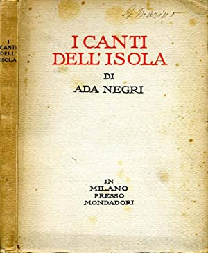 I Canti Dell'Isola: Ada Negri