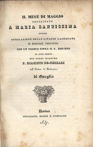 Il mese di Maria Santissima Spiegazione delle: F. Giacinto De