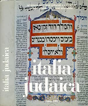 Italia Judaica Atti del I° convegno internazionale: AA. VV.