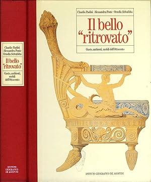 """Il bello """"ritrovato"""" Gusto, ambienti, mobili dell'Ottocento: Claudio Paolini Alessandra..."""