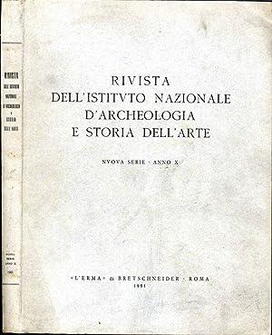 Rivista Dell'Istituto Nazionale D'Archeologia E Storia Dell'Arte: Aa.Vv.