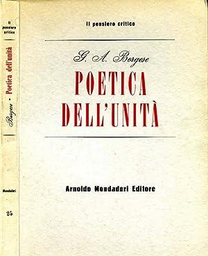 Poetica Dell'Unità CINQUE SAGGI: G.A. Borghese