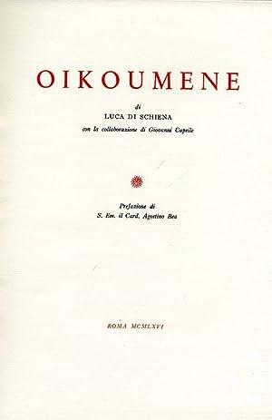 Oikoumene: Luca Di Schiena,