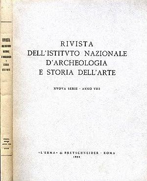 Rivista Dell'Istituto Nazionale D'Archeologia E Storia Dell'Arte: Emma Zocca, A