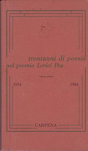 trentanni di poesia nel premio Lerici Pea