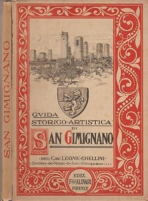 Guida storico artistica di San Gimignano: Cav. Leone Chellini