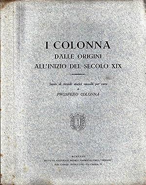 I Colonna dalle Origini all'Inizio del Secolo XIX: Prospero Colonna