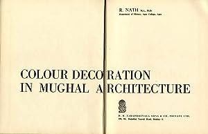 COLOUR DECORATION IN MUGHAL ARCHITECTURE: NATH