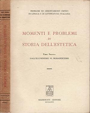 MOMENTI E PROBLEMI DI STORIA DELL'ESTETICA (: AAVV