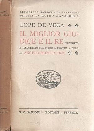 Il miglior giudice è il re: Lope De Vega