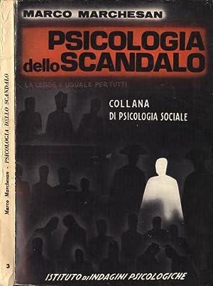 Psicologia dello scandalo: Marco Marchesan