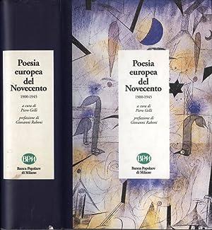 Poesia europea del Novecento 1900 - 1945: Piero Gelli (