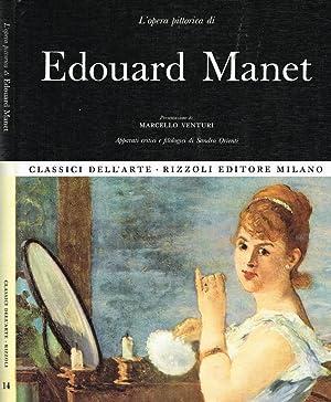 L'OPERA PITTORICA DI EDOUARD MANET: MARCELLO VENTURI, SANDRA