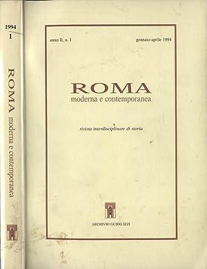 Roma moderna e contemporanea abebooks for Biblioteca di storia moderna e contemporanea