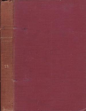 Il predicatore cattolico- Anno XIII Serie I,: Sac. Prof. Sebastiano