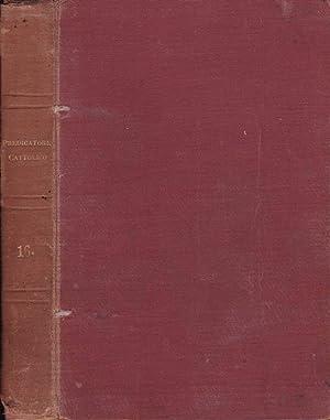 Il predicatore cattolico- Anno XVI Serie I,: Sac. Prof. Sebastiano