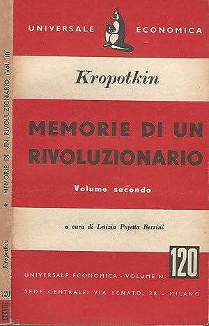Memorie di un rivoluzionario vol. II: Kropotkin Pietro