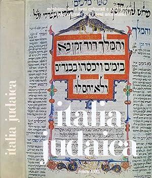 Italia Judaica Atti del I Convegno Internazionale,: AA.VV