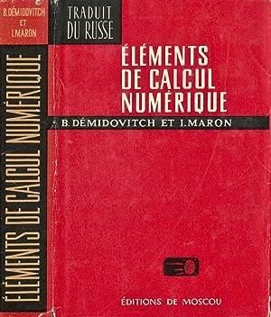 Elements de Calcul Numerique: B. Demidovitch I.