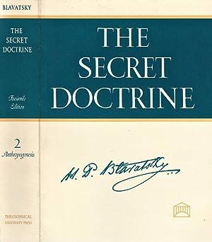 The Secret Doctrine Vol. II The synthesis: H. P. Blavatsky