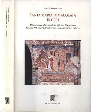Santa Maria Immacolata in Ceri Pittura sacra: Nino M. Zchomelidse