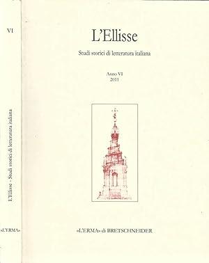 L' Ellisse Studi storici di letteratura italiana: AA. VV.