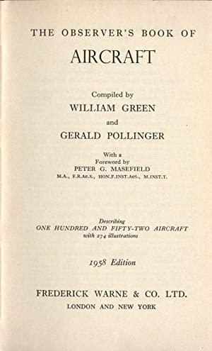 The observer' s book of aircraft: William Green -