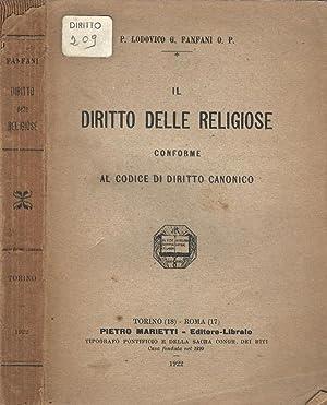 Il Diritto delle Religiose conforme al Codice: P. Lodovico G.