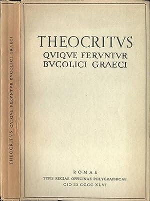 Quique feruntur bucolici graeci: Theocritus