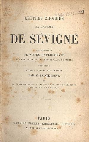 Lettres choisies: Madame De Sèvignè