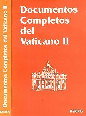 DOCUMENTOS COMPLETOS DEL VATICANO II CONCILIO VATICANO II: AA.vv