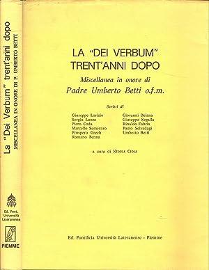 """La """"Dei Verbum"""" trent'anni dopo - Anno: Nicola Cola, a"""