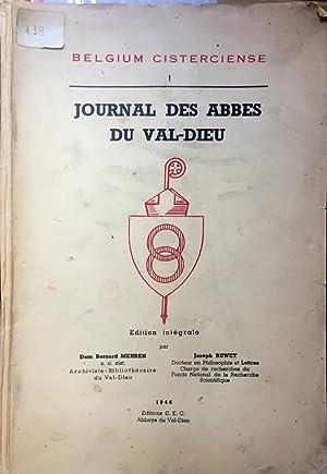 Journal des Abbes du Val-Dieu: Bernard Meheren -