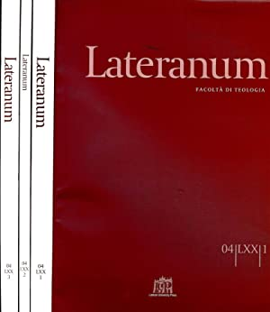 LATERANUM N.I II III DEL 2004 FACOLTA': AAVV