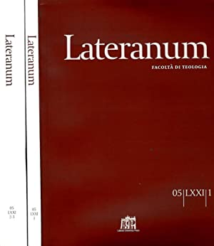 LATERANUM N.I,II/III DEL 2005 FACOLTA' DI TEOLOGIA: AAVV