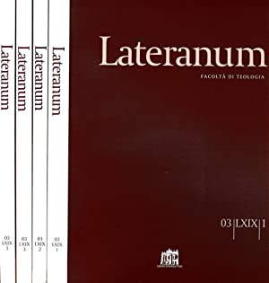 LATERANUM N.I II III DEL 2003 FACOLTA': AAVV