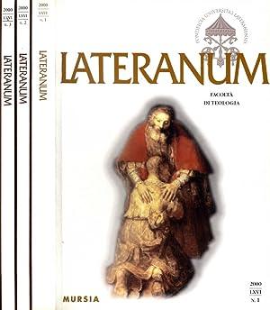 LATERANUM N.I II III DEL 2000 FACOLTA': AAVV