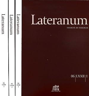 LATERANUM N.I II III DEL 2006 FACOLTA': AAVV