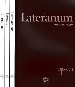 LATERANUM N.I II III DEL 2008 FACOLTA': AAVV