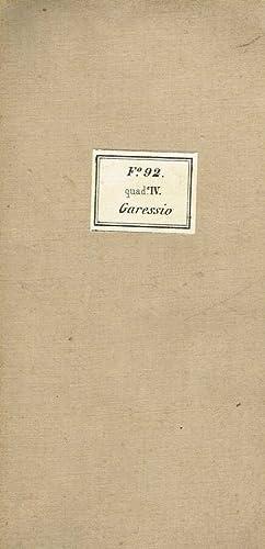 GARESSIO F 92 QUAD IV DELLA CARTA: ROSSI, CAUDA CESARE
