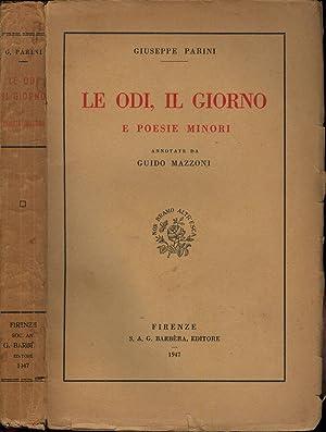 Le Odi, Il Giorno e poesie minori: Giuseppe Parini