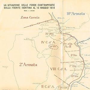 LA SITUAZIONE DELLE FORZE CONTRAPPOSTE SULLA FRONTE: AA.VV