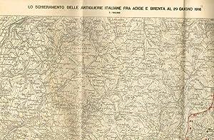 LO SCHIERAMENTO DELLE ARTIGLIERIE ITALIANE FRA ADIGE: AA.VV