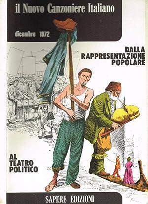 IL NUOVO CANZONIERE ITALIANO n.165 DALLA RAPPRESENTAZIONE: AA.VV